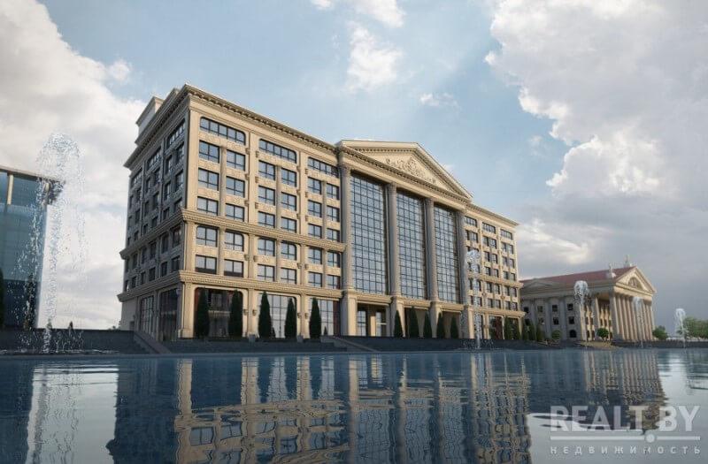 """Что будет в элитном Бизнес центре """"BK Capital Palace"""" на Октябрьской кроме офисов."""