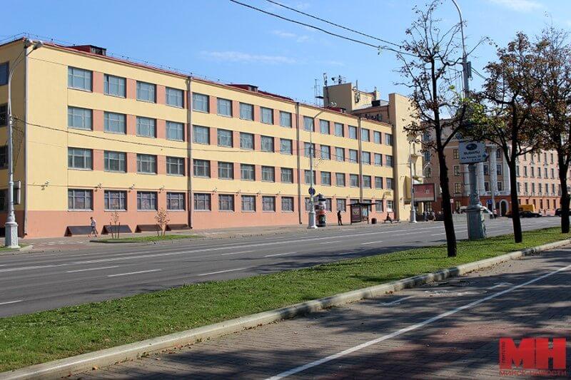 В Минске выставили на торги Дом печати на проспекте под бизнес-центр.