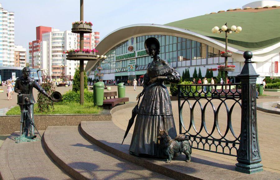 Комаровский рынок. Минск. Беларусь
