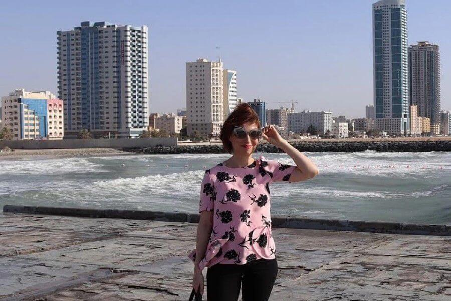 Ольга эмигрировала в ОАЭ в 2014 году. Фото: личный архив.