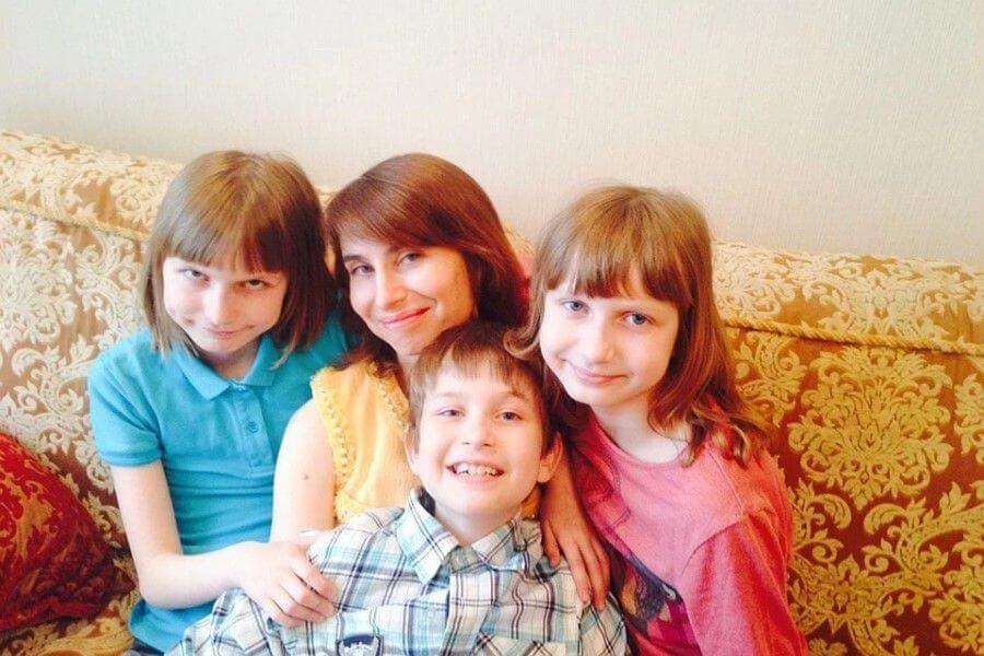 Семья Ольги Юрковской