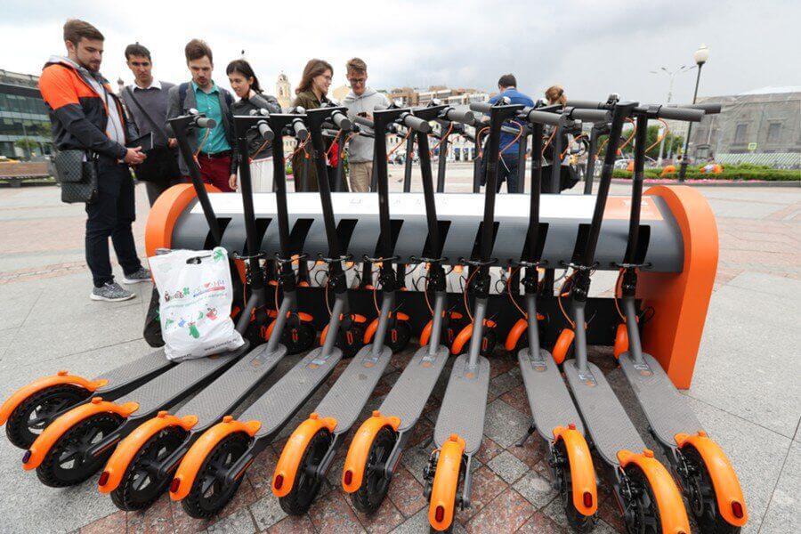 Белорусский шеринг самокатов оценили в 1,5 млн. долларов.