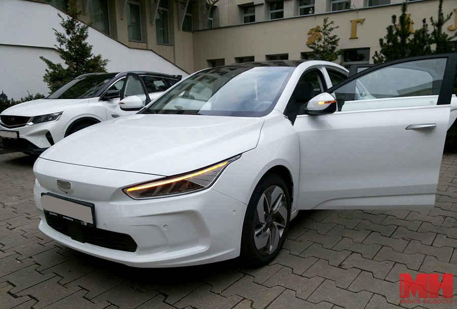 В Минске представили электромобиль Geely Geometry A