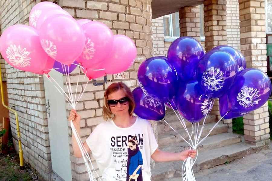 Предприниматель из Слуцка рассказала про семейный бизнес по продаже шаров