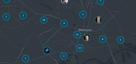 Появилась онлайн-карта белорусов, которые самоизолировались дома. Можно себя добавить