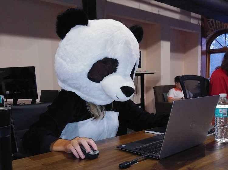 В офисе PandaDoc во Флориде, Хеллоуин 2019 года.