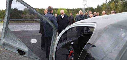 Президент оценил разработки белорусских ученых по развитию электротранспорта